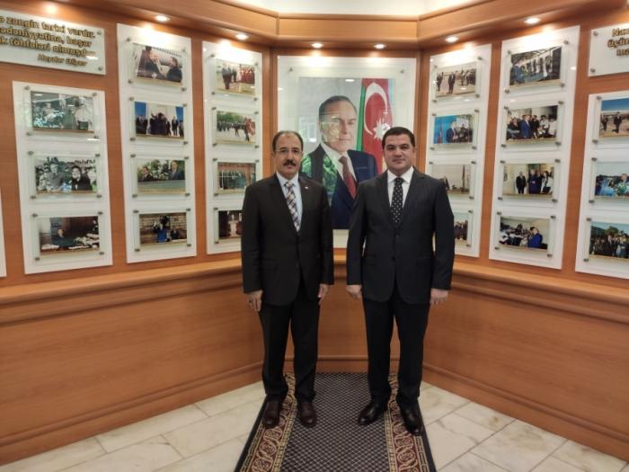 Turkish ambassador visits Representative Office of Nakhchivan in Baku