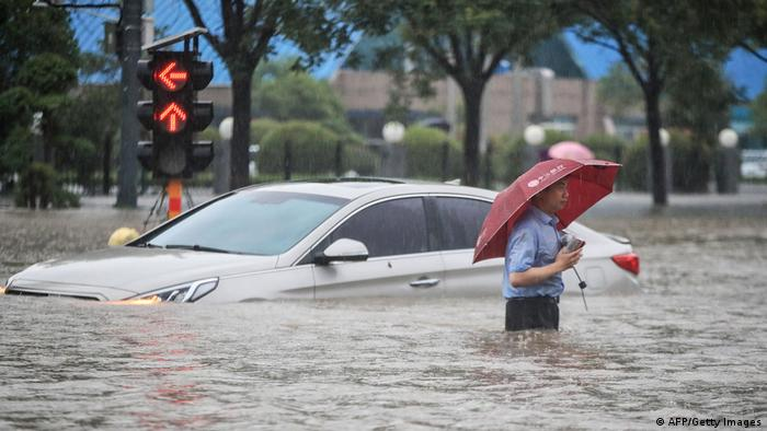 Deadly Floods in China -   NO COMMENT