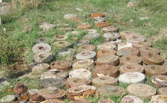 Zwei Menschen bei einer Landminenexplosion in Chodschali verletzt