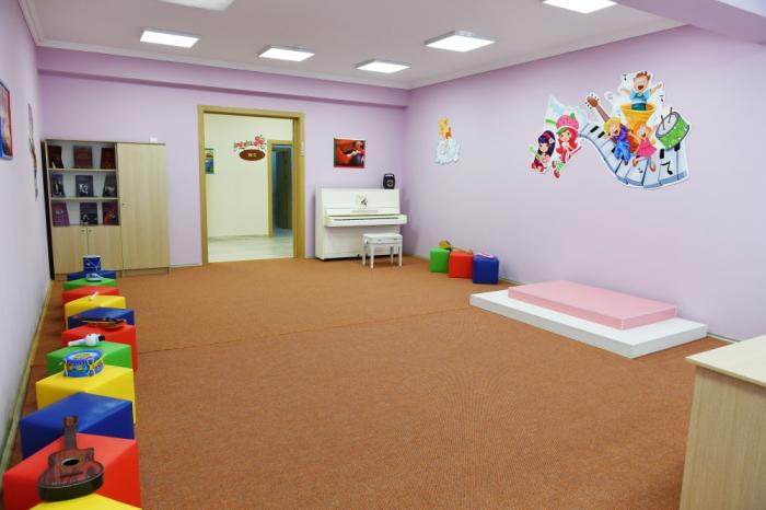 Presidente de Azerbaiyán inaugura un orfanato-guardería de 200 plazas en la ciudad de Naftalan