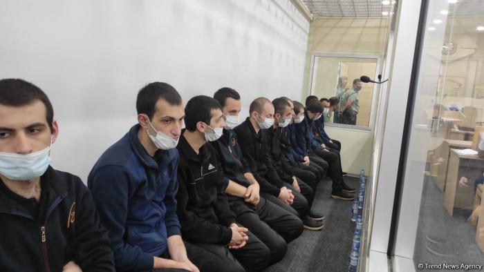 Prozess gegen Mitglieder der armenischen Terrorgruppe in Baku fortgesetzt