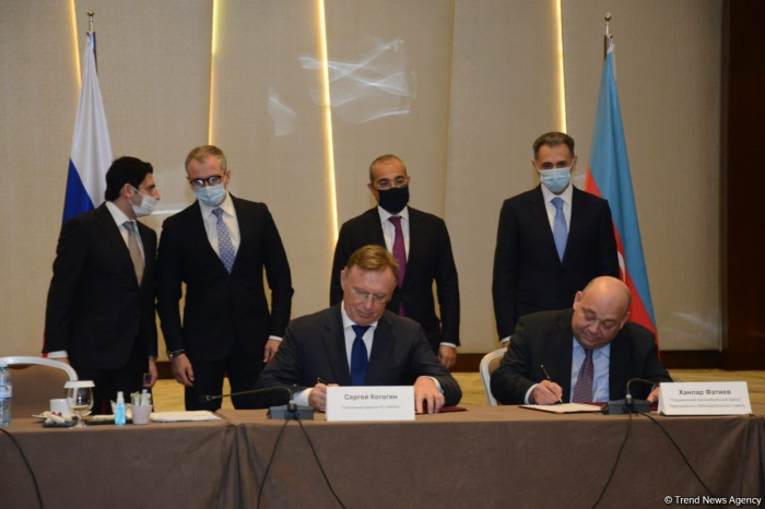 Russia's KAMAZ, Azerbaijan's Ganja Automotive Plant ink memorandum