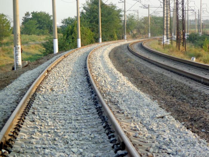 Eisenbahnbau schreitet dynamisch in befreiten Gebieten voran