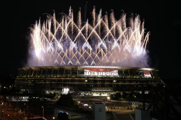 Eröffnungszeremonie der Olympischen Spiele 2020 in Tokio