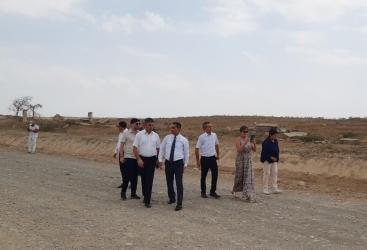 بدء زيارة وفد الجمعية الوطنية الفرنسية لمحافظة فضولي المحررة من الاحتلال الأرميني