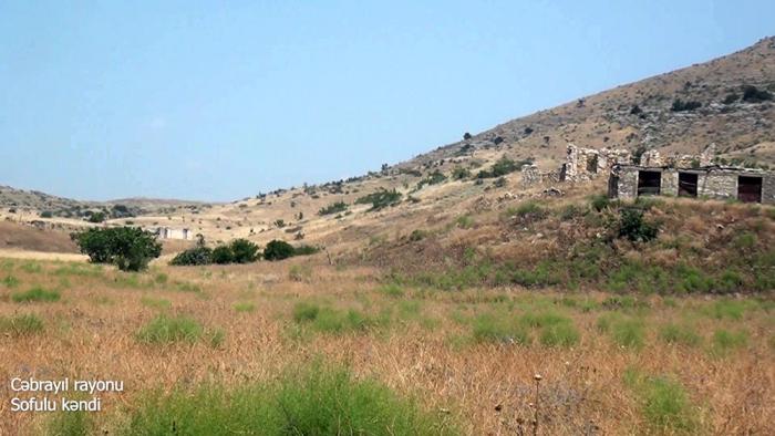 Videoaufnahmen   des Dorfes Sofulu in der Region Dschabrayil
