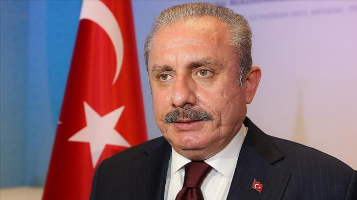 Türkischer Parlamentspräsident stattet Aserbaidschan einen Besuch ab