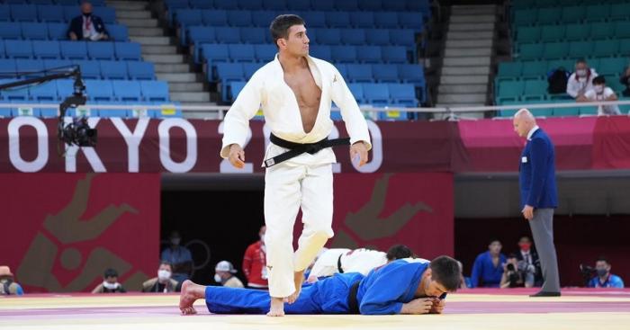 Tokio 2020:   Aserbaidschanischer Judoka erreicht 1/4-Finale   - FOTOS