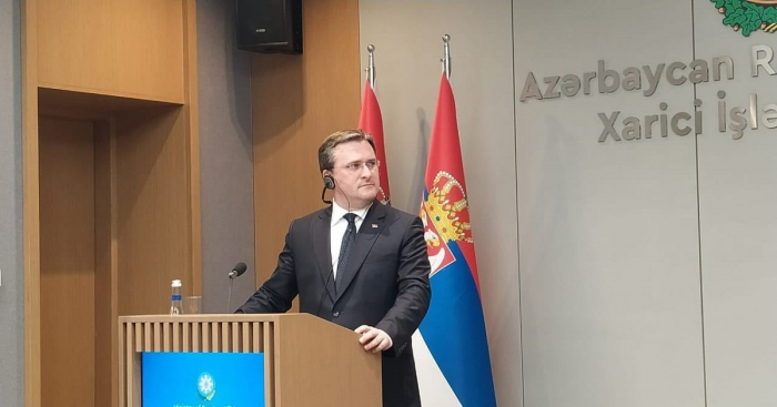 """""""Serbien wird Aserbaidschans Unterstützung in schweren Tagen nie vergessen""""   - Selakovic"""