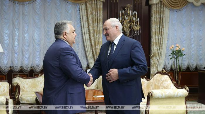 Lukashenko:   Belarús y Azerbaiyán lograron no solo conservar sino multiplicar sus relaciones