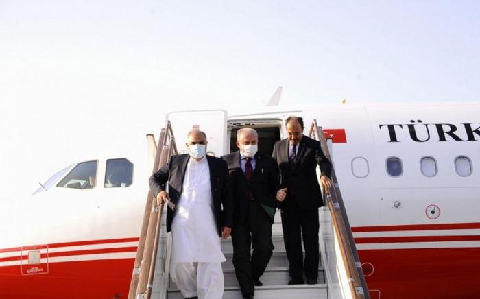 Chairmen of Turkish, Pakistan's parliaments arrive in Azerbaijan