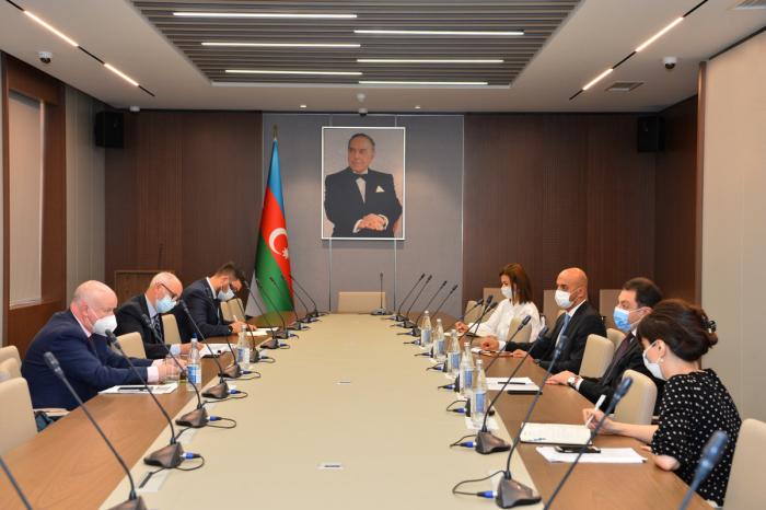 El vicecanciller azerbaiyano se reúnecon el ponente de la PACE