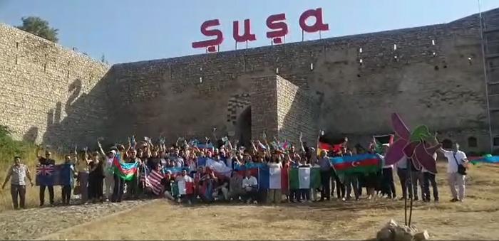 Representatives of Azerbaijani diaspora visit Shusha city - UPDATED