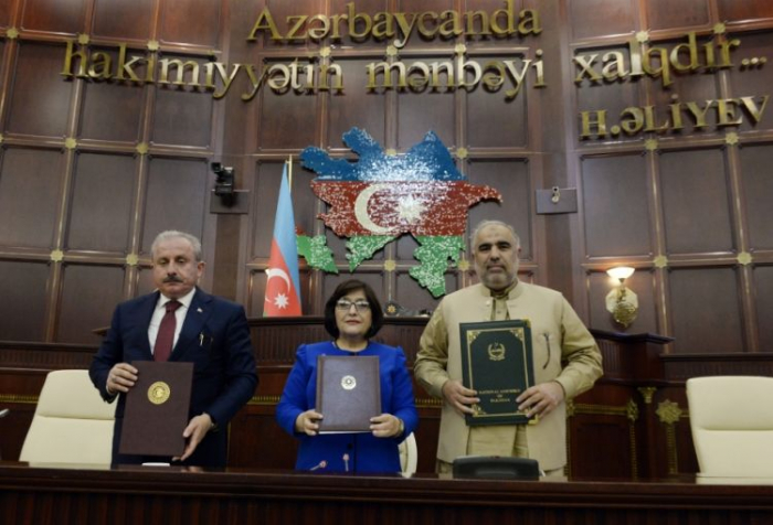 First trilateral meeting of Azerbaijani, Turkish and Pakistani parliament speakers -   OPINION