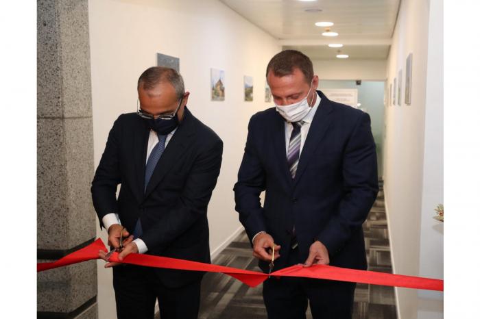 La oficina de la Representación Comercial de Azerbaiyán se abre en Israel