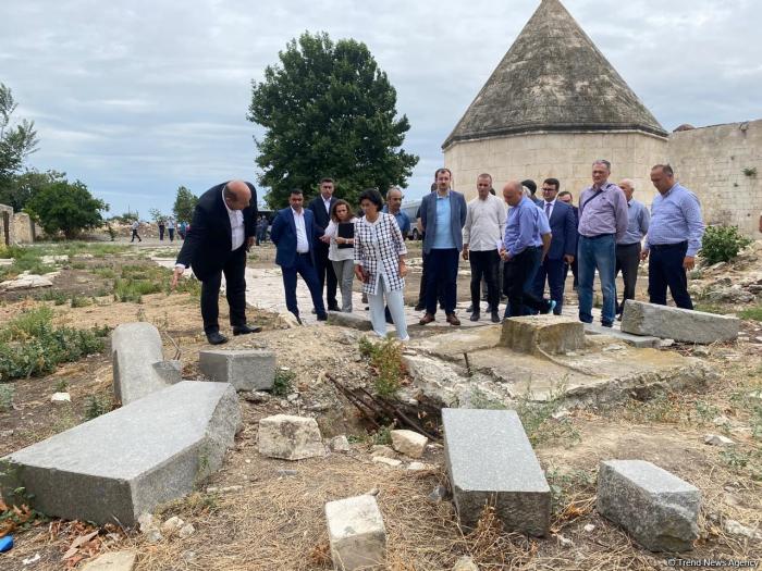 Representatives of the Interdepartmental Center visit Azerbaijan