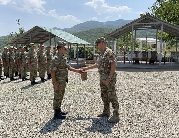 La nuevaunidad militar se inaugura en el territorio de la región de Joyalí - VIDEO
