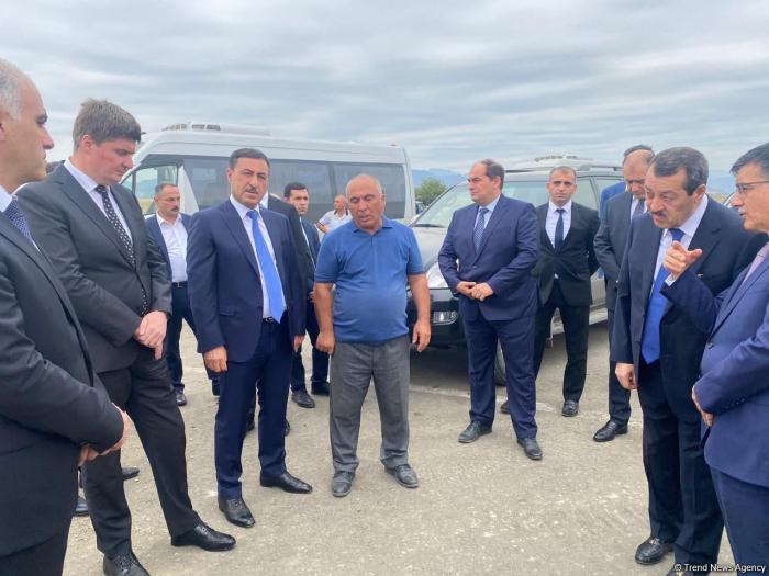 Azerbaijani working groups getting familiar with Fuzuli Airport