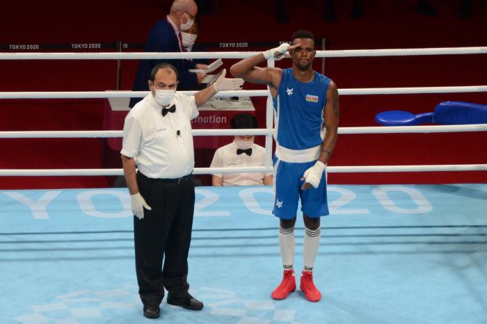 Azerbaijani boxer advances to semi-finals at Tokyo Olympics