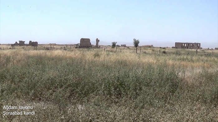 Azerbaijani MoD shares new   footage   from liberated Aghdam