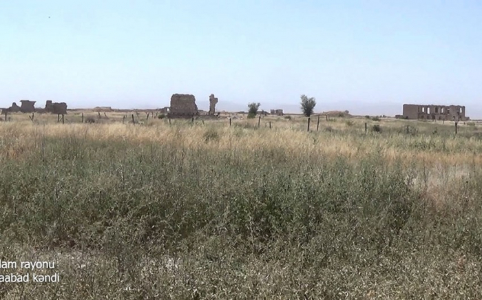 Imágenes   de la aldea de Shuraabad de la región de Aghdam