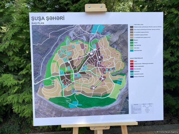 Azerbaiyán revela detalles del plan general de la ciudad de Shusha