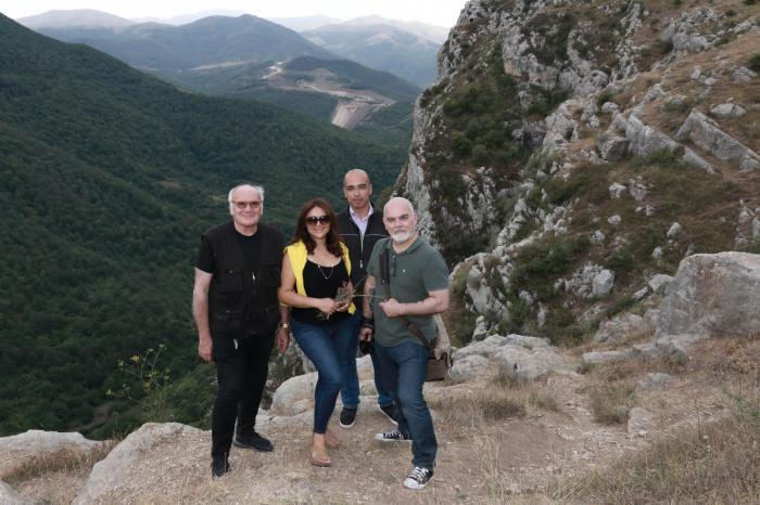 French media representatives visit Azerbaijan