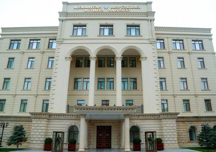 Ministerio de Defensa:  La información sobre la violación del alto el fuego por parte del ejército azerbaiyano es falsa