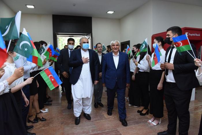 Pakistani Cultural Center opens at Azerbaijan University of Languages