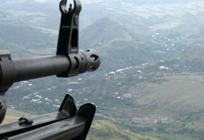 Los armenios disparan contra las posiciones de nuestro ejército en dirección a Kalbajar