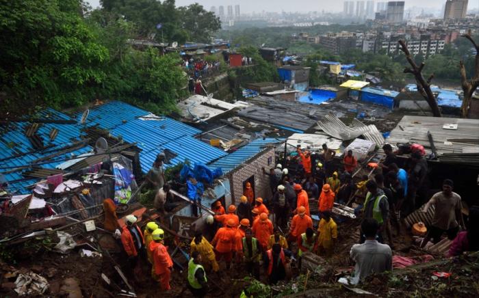 Hindistanda güclü leysan:    129 nəfər ölüb