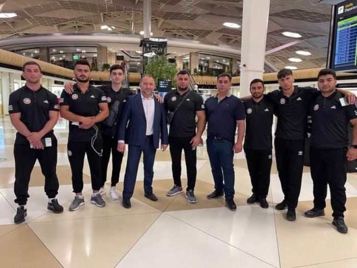 Azerbaijani sumo wrestler wins European gold