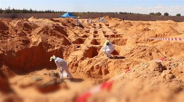 اكتشاف مقبرة جماعية جديدة في ترهونة وسط ليبيا