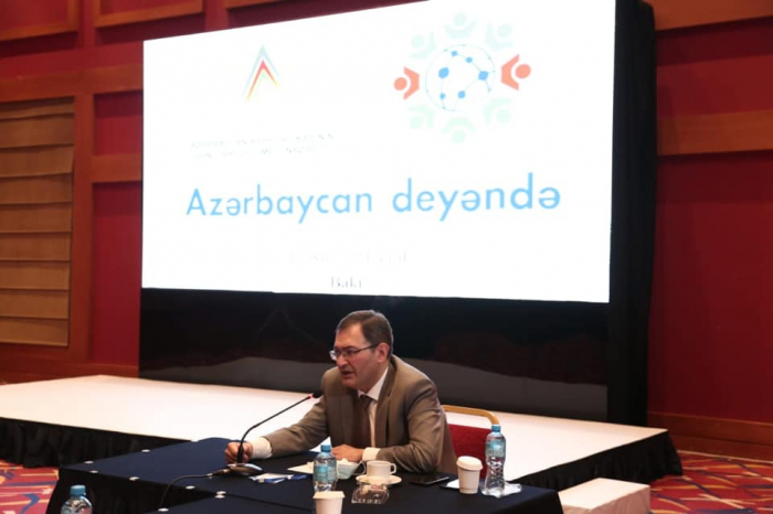 """""""Azərbaycan deyəndə"""" layihəsinin təqdimatı keçirilib"""