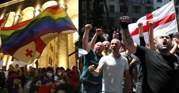 Qafqazsayağı homofobiya və Avropanın ikili standartları