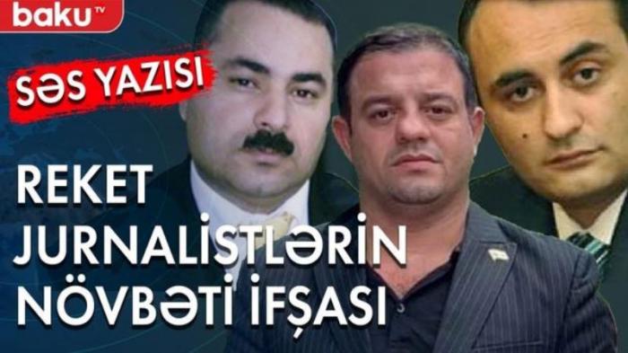 Həkimi şantaj edən reket jurnalistin səs yazısı yayıldı -    FOTO+VİDEO