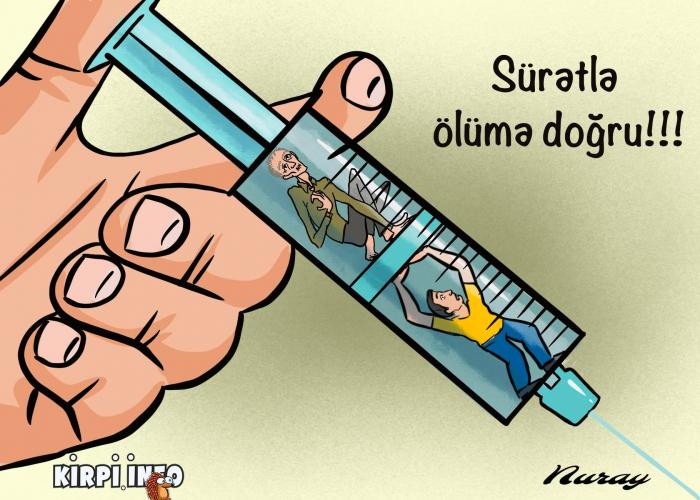 """Həyatınızı """"patı""""rmayın -    Narkotika əleyhinə karikaturalar"""