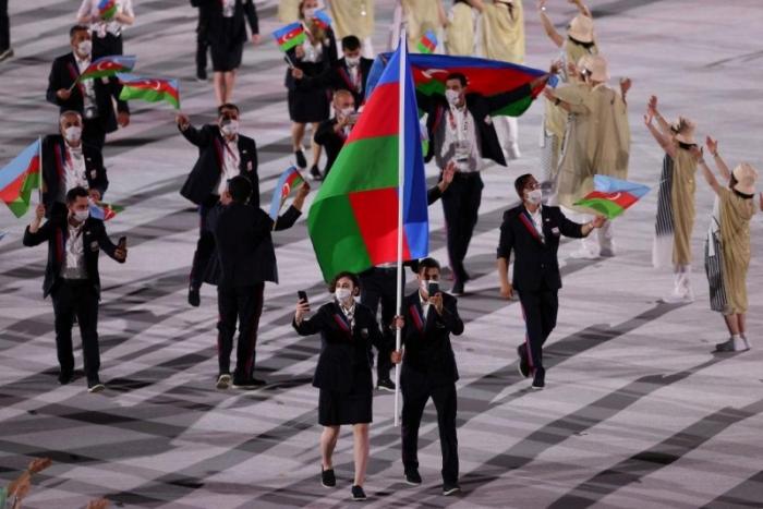 Azərbaycan millisinin Tokioda 5-ci keçidi -    FOTOLAR