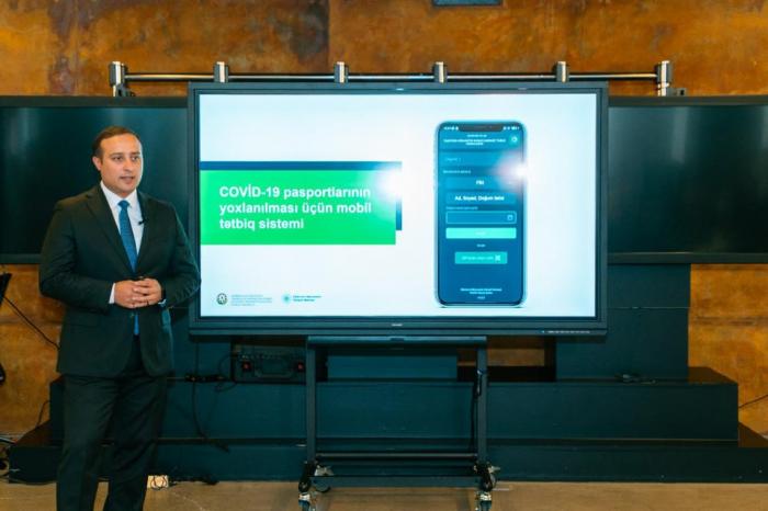 COVID-19 pasportunun yoxlanılması üçün mobil tətbiq hazırlanıb