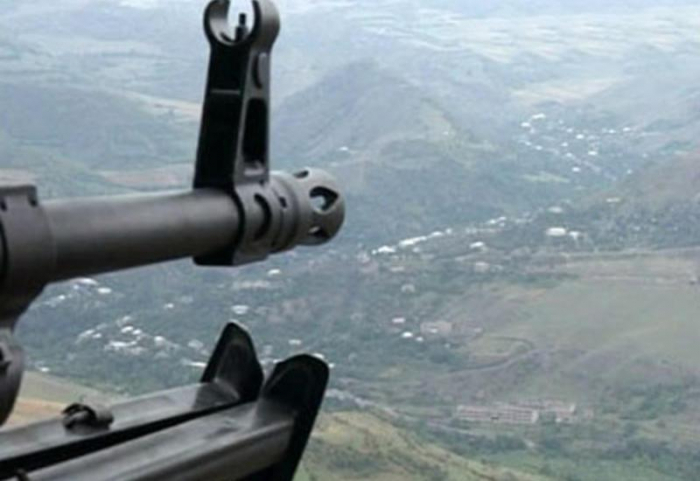 Les troupes arméniennes tirent sur les positions de l