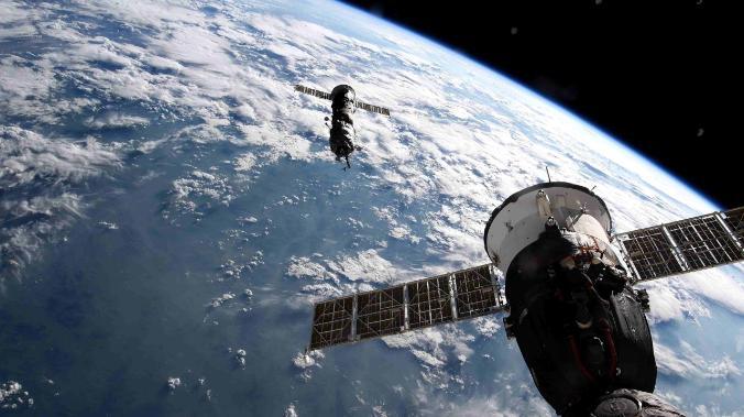 Rusiya kosmik modulunu Sakit okeanda batırıb