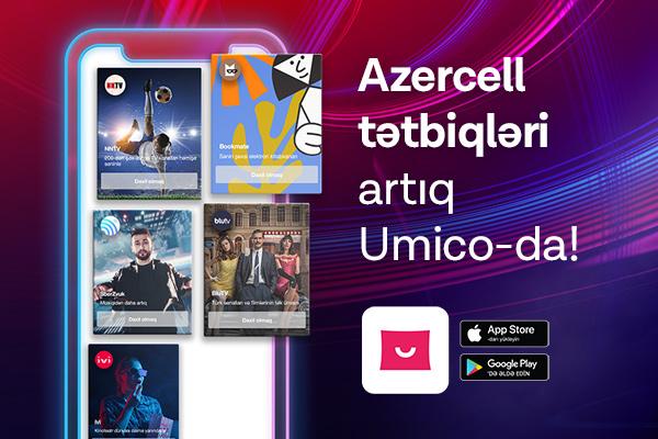 """Azercell-in rəqəmsal xidmətləri """"Umico""""da"""
