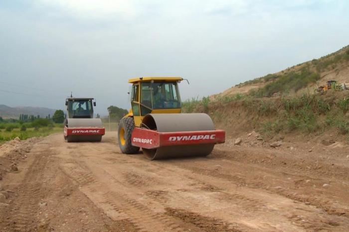 Xanlıq-Qubadlı avtomobil yolu inşa edilir