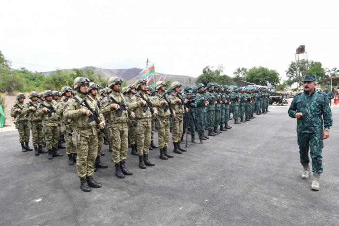 Qarabağda DSX-nin 2 hərbi hissəsi istifadəyə verilib -    FOTO