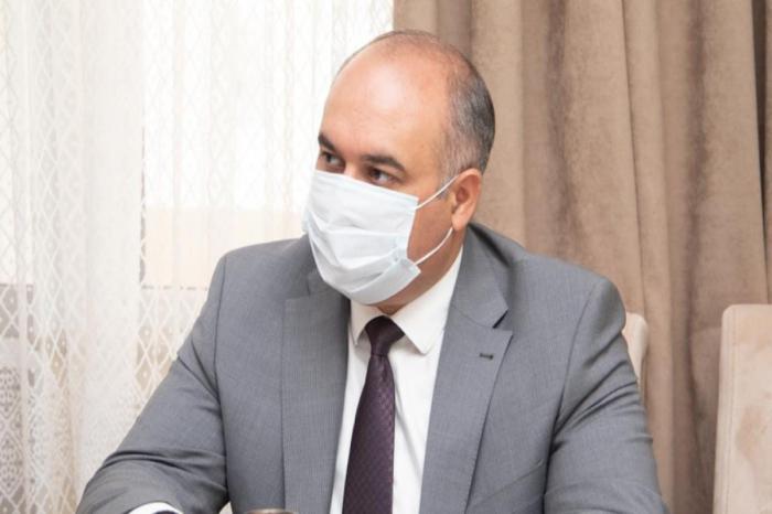 DSMF sədri şəhid Ramil Ağayevin ailəsi ilə görüşüb