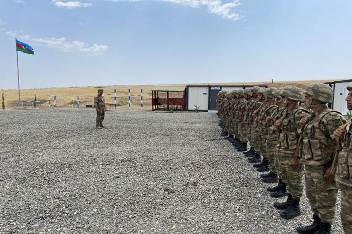 De nouvelles unités militaires mises en service sur le territoire de la région de Khodjavend