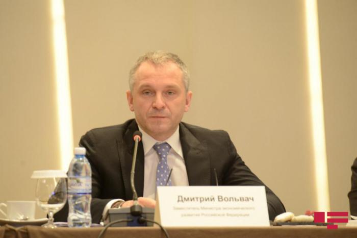 """نائب الوزير:   """"هناك فرص كبيرة لزيادة حجم التبادل التجاري بين أذربيجان وروسيا"""""""