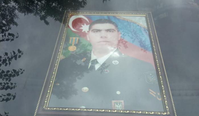 دفن جندي اذربيجاني استشهد في كلبجار