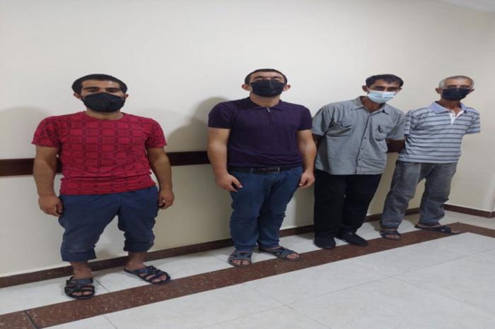 Goranboyda narkotik vasitə istifadəçiləri saxlanılıb