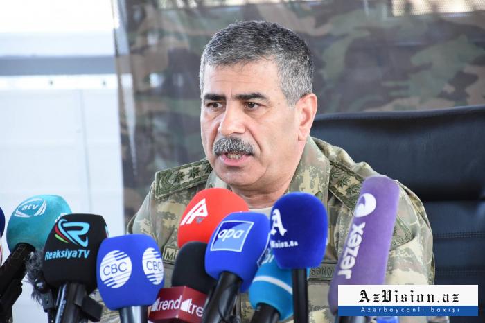 Le ministre azerbaïdjanais de la Défensea parlé de l